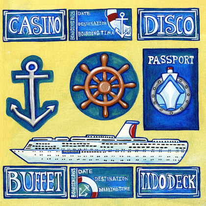 Cruise Ship Cut-Outs