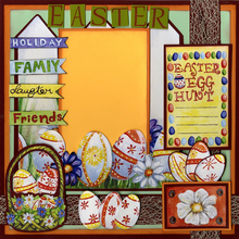 Easter Fun - Quick Pages Set - Left & Right