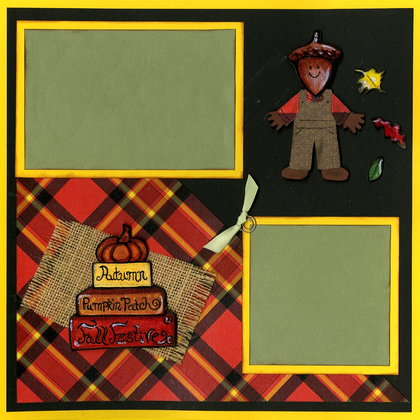 Fall Festival - Quick Pages Set - Left & Right