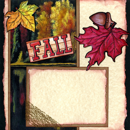 Fall Festivities (Page Kit) - Left
