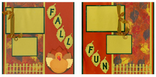Fall Fun Quick Pages Set