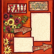 Fall Harvest Fun (Page Kit) - Left
