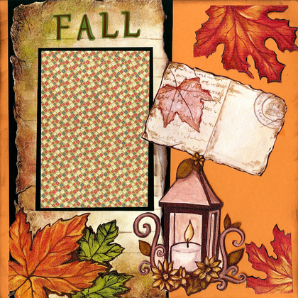 Fall Memories - Quick Pages Set - Left & Right