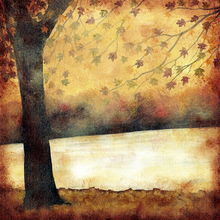 Fall's in The Air - print