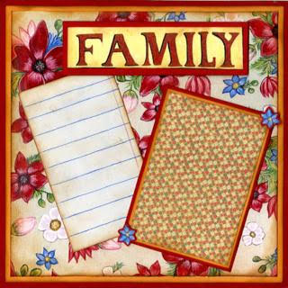 Family Blessings - Quick Pages Set - Left & Right