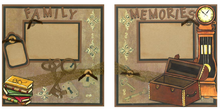 Family Memories Quick Pages Set
