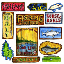 Fish Camp Cut-Outs