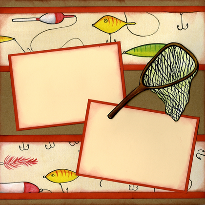 Fisherman's Lure Quick Page Set - Right