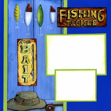 Fishin' Wishin' (Page Kit) - Left
