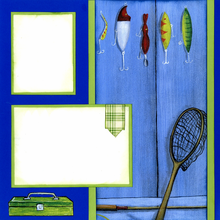Fishin' Wishin' Quick Page Set - Left