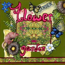 Flower Garden Fantsy - Quick Page Set - Left & Right Sides