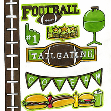 Football Cut-Outs
