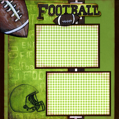 Football Event (Page Kit) - Left