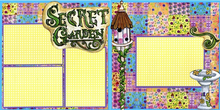 Garden Secrets Quick Pages Set