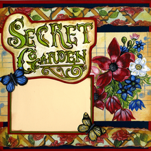 MY Garden Secrets - Quick Page Set - Left & Right Sides