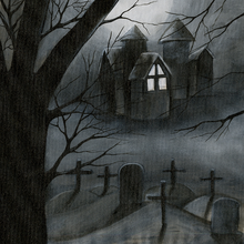 Ghostly Haunting - Print