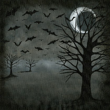 Ghostly Night - Print