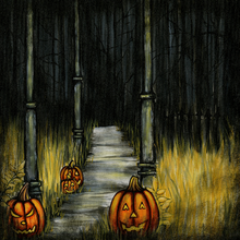 Ghostly Path - Print