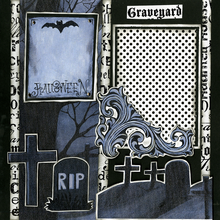 Graveyard Scare - Quick Pages Set - Left & Right