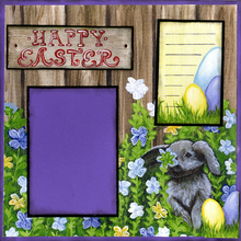 Happy Easter - Quick Pages Set - Left & Right