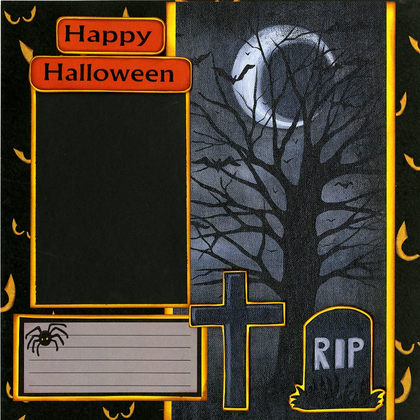 Happy Halloween - Quick Pages Set - Left & Right