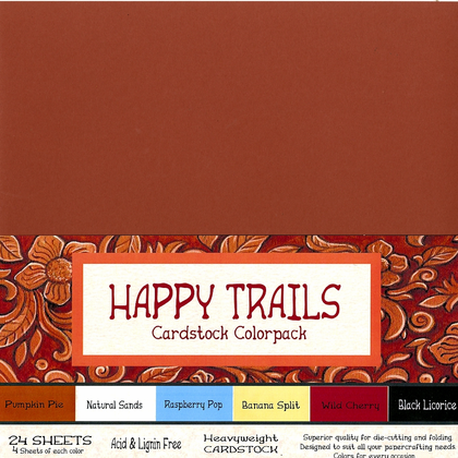 'Happy Trails' Cardstock Colorpack
