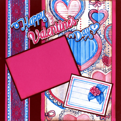 Happy Valentine's Day - Quick Pages Set - Left & Right