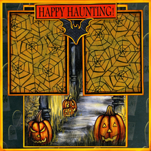 Haunted Halloween Quick Pages Set - Left & Right