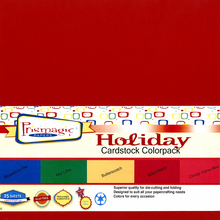 Holiday Cardstock Colorpack / 25 Sheets