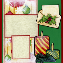 Holiday Celebration (Page Kit) - Left