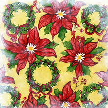 Holiday Flowers - PRINT