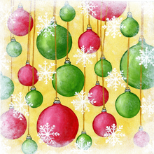 Holiday Tree Ornaments - PRINT