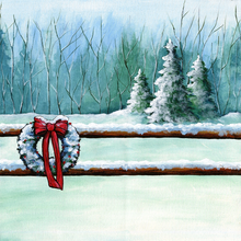 Holidays in The Country - PRINT