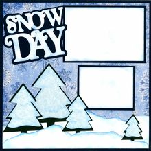 It's A Snow Day - Quick Pages Set - Left & Right