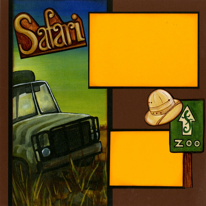 Jeep Safari Quick Page Set - Left