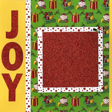 Joy To The World - Quick Page Set - Left & Right