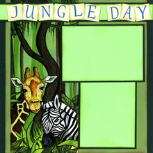 Jungle Day (Page Kit) - Left