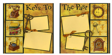 Key to the Past  - Quick Page Set