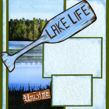 Lake Life - Quick Pages Set - Left & Right