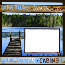 Lakeside Memories - Quick Pages Set - Left & Right