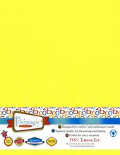 Lemon Ice / Letter Size - 25 Sheet Pack