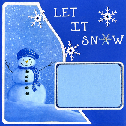 Let It Snow & Snow - Quick Pages Set - Left & Right