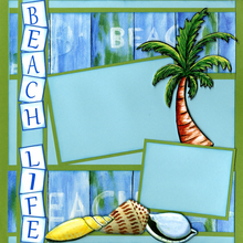 Life's a Beach (Page Kit) - Left