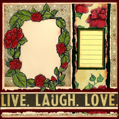 Live, Laugh, Love - Quick Pages Set - Left & Right