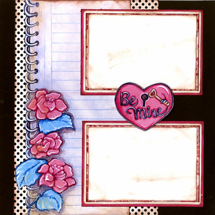 Love Letters - Quick Pages Set - Left & Right