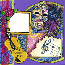 Mardi Gras Times - Quick Pages Set - Right