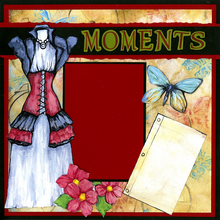 Moments Quick Page Set - Left Side