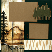 Mountain Range - Quick Pages Set - Left & Right