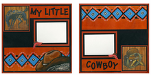My Little Cowboy Finished Page Set