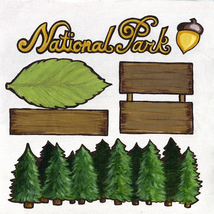 National Park Cut-Outs
